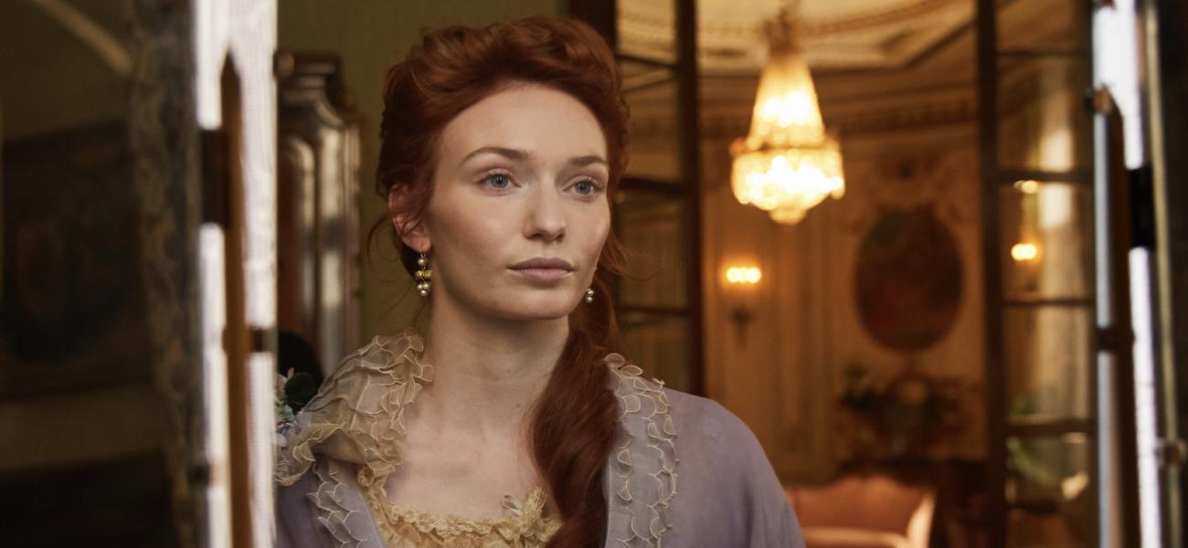 ELEANOR TOMLINSON stars in new drama-biopic; COLETTE