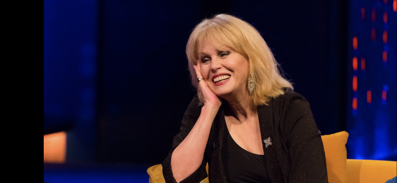 JOANNA LUMLEY and TOM ALLEN on THE JONATHAN ROSS SHOW