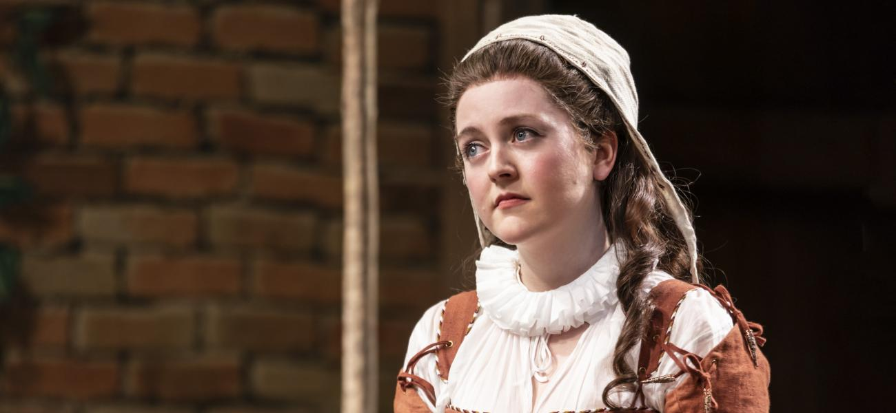 HELEN MONKS in THE UPSTART CROW