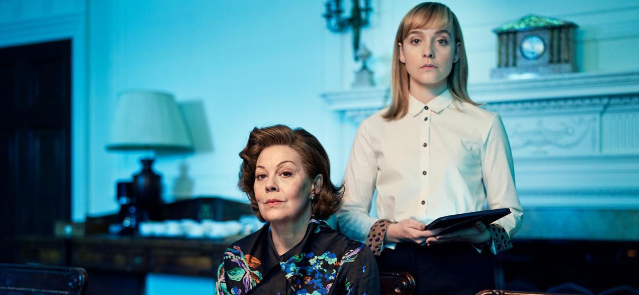 BBC Drama ROADKILL Starring Helen McCrory and Olivia Vinall