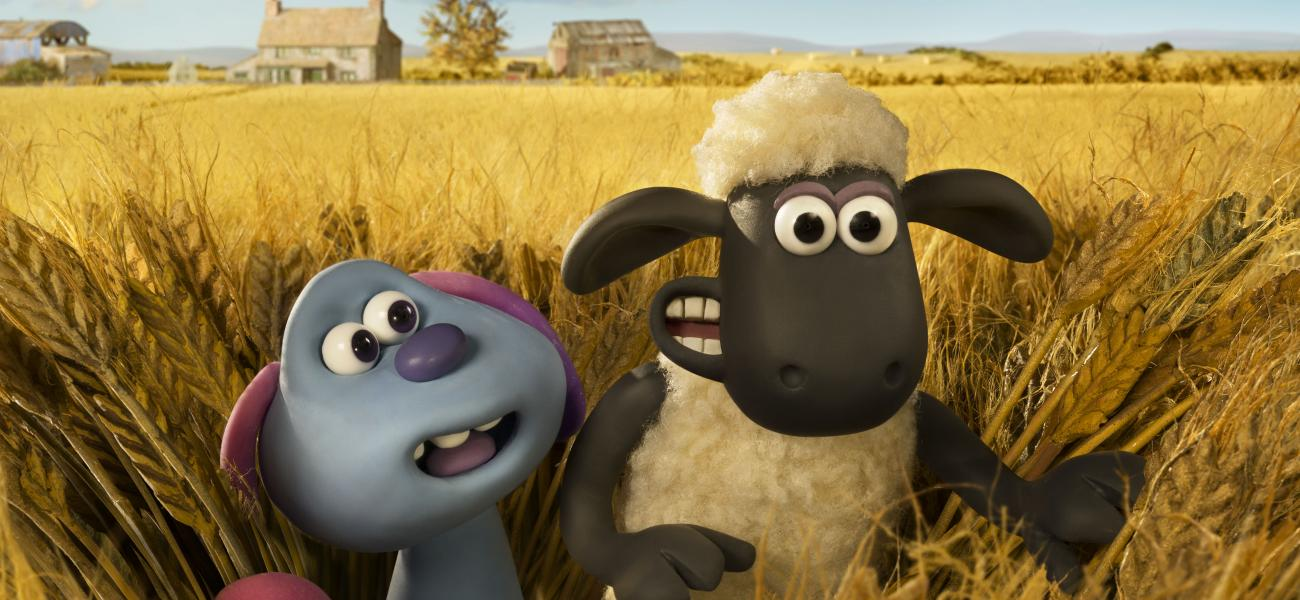 JUSTIN FLETCHER voices SHAUN THE SHEEP FARMAGEDDON